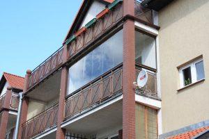 Bezramowa zabudowa balkonu Wrocław