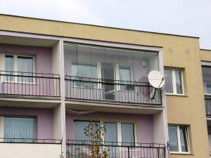 Zabudowa przesuwna balkonu Wrocław